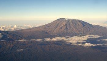 In welchem Land befindet sich der Kilimandscharo